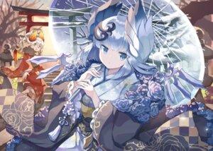 Rating: Safe Score: 11 Tags: kimono kuuron megane puzzle_&_dragons umbrella wings User: Mr_GT