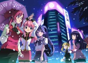 Rating: Safe Score: 10 Tags: crossover galaxy_angel hayase_mitsuki kazami_mizuho kimi_ga_nozomu_eien megane milfeulle_sakuraba onegai_teacher saitou_atsushi seifuku User: AhreNt