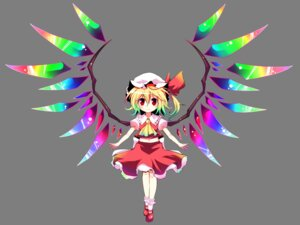 Rating: Safe Score: 16 Tags: bell_(satappe) flandre_scarlet touhou transparent_png wings User: charunetra