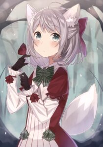 Rating: Safe Score: 21 Tags: animal_ears dress minase_nagi tail User: Twinsenzw