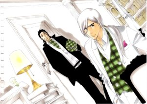 Rating: Safe Score: 10 Tags: bleach kubo_tite male shunsui_kyouraku ukitake_juushirou User: Radioactive