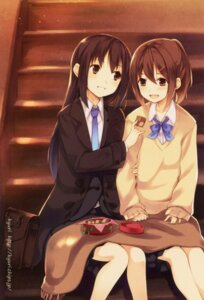 Rating: Safe Score: 25 Tags: kyuri seifuku User: Radioactive