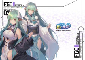 Rating: Questionable Score: 15 Tags: cleavage fate/grand_order horns japanese_clothes kiyohime_(fate/grand_order) oukawa_yuu thighhighs User: Dreista