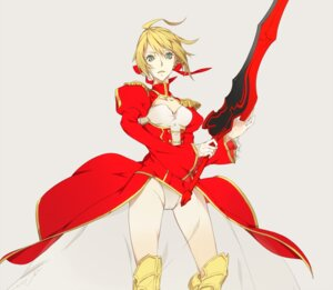 Rating: Questionable Score: 13 Tags: dress fate/extra fate/stay_night pantsu saber saber_extra sword yucca-612 User: Radioactive