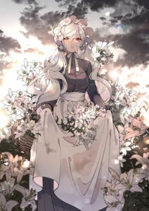 Rating: Safe Score: 12 Tags: chilcy35 heterochromia maid skirt_lift User: charunetra