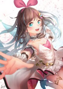 Rating: Safe Score: 22 Tags: a.i._channel cleavage garter kizuna_ai saraki signed User: RyuZU