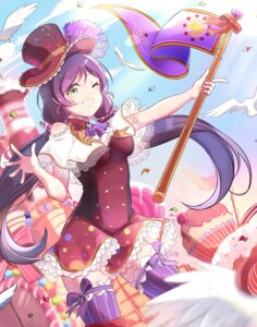 Rating: Safe Score: 35 Tags: dress love_live! thighhighs toujou_nozomi xinghuo User: Mr_GT