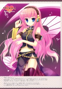 Rating: Safe Score: 30 Tags: headphones indico_lite megurine_luka mitha thighhighs vocaloid User: fireattack