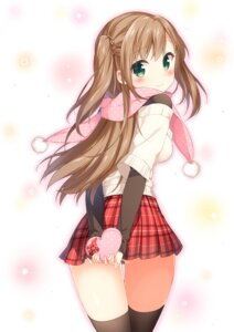 Rating: Safe Score: 88 Tags: ass masuishi_kinoto pantsu thighhighs valentine User: KazukiNanako