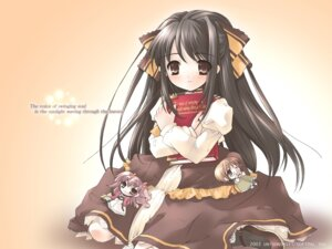 Rating: Safe Score: 10 Tags: chibi dress ito_noizi komorebi_ni_yureru_tama_no_koe unisonshift wallpaper User: noirblack