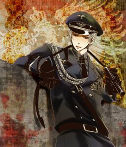 Rating: Safe Score: 12 Tags: hetalia_axis_powers male prussia tagme User: Amperrior