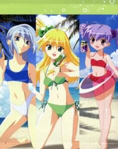 Rating: Safe Score: 8 Tags: akikan! bikini budoko melon swimsuits yell User: Onpu