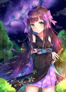 Rating: Safe Score: 32 Tags: japanese_clothes mishuo_(misuo69421) sword User: BattlequeenYume