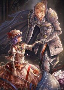 Rating: Safe Score: 16 Tags: armor dantewontdie dress lolita_fashion remilia_scarlet torn_clothes touhou User: Mr_GT