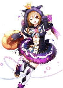 Rating: Safe Score: 36 Tags: animal_ears dress heels kunikida_hanamaru lepoule_(kmjh90) love_live!_sunshine!! nekomimi thighhighs User: charunetra