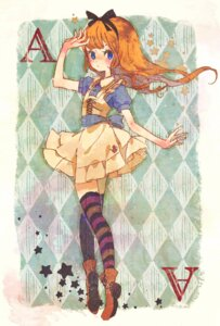 Rating: Safe Score: 17 Tags: alice alice_in_wonderland fuwata thighhighs User: Radioactive