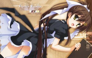 Rating: Safe Score: 41 Tags: kobuichi maid tenshinranman waitress wallpaper yamabuki_aoi User: khleex
