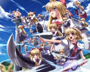 Rating: Safe Score: 13 Tags: alice_margatroid goliath_doll shanghai subaru_noji touhou wallpaper User: Radioactive