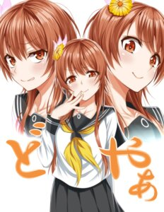 Rating: Safe Score: 47 Tags: heyror nisekoi seifuku tachibana_marika User: mash