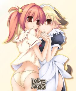 Rating: Questionable Score: 15 Tags: animal_ears ass inumimi love_me_do maid pantsu seifuku tagme tail User: Radioactive