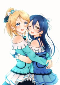 Rating: Safe Score: 36 Tags: ayase_eli lilylion26 love_live! sonoda_umi User: charunetra
