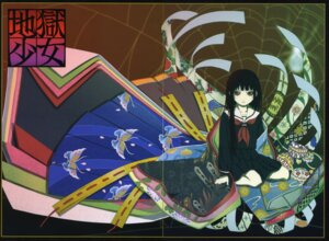 Rating: Safe Score: 7 Tags: enma_ai gap jigoku_shoujo oka_mariko User: Radioactive