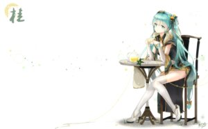 Rating: Safe Score: 81 Tags: chinadress hatsune_miku heels kuroi_asahi thighhighs vocaloid User: Mr_GT