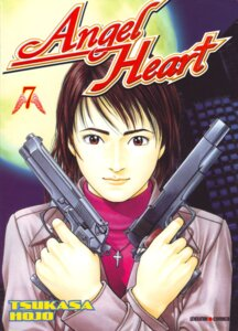Rating: Safe Score: 2 Tags: angel_heart gun houjou_tsukasa xiang-ying User: Radioactive