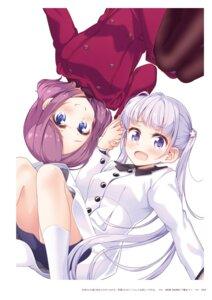 Rating: Questionable Score: 7 Tags: new_game! suzukaze_aoba tokunou_shoutarou tooyama_rin User: kiyoe