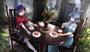 Rating: Safe Score: 28 Tags: dress kaku_seiga miyako_yoshika ryosios touhou User: mattiasc02