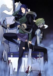 Rating: Safe Score: 16 Tags: blood durarara!! thighhighs torn_clothes yasuda_suzuhito User: Radioactive