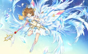 Rating: Safe Score: 32 Tags: card_captor_sakura dress kerberos kingchenxi kinomoto_sakura see_through weapon wings User: RyuZU