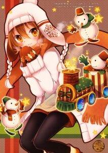 Rating: Safe Score: 23 Tags: christmas goma_(11zihisin) pantyhose purin_kai_yogurt User: StardustKnight