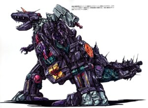 Rating: Safe Score: 6 Tags: dinosaurer mecha saitou_akihide transformers User: Radioactive