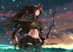 Rating: Safe Score: 24 Tags: animal_ears arknights garter meteor_(arknights) shijie_jianfa torn_clothes weapon User: Darkthought75