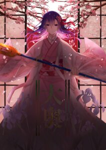 Rating: Safe Score: 28 Tags: fate/grand_order kimono matou_sakura parvati_(fate/grand_order) tagme weapon User: Spidey