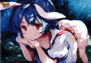 Rating: Questionable Score: 171 Tags: animal_ears binding_discoloration bloomers bunny_ears gekidoku_shoujo ke-ta loli nipples no_bra seiran_(touhou) touhou User: sonikkut