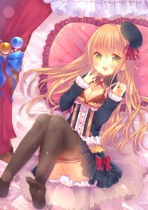 Rating: Safe Score: 34 Tags: cleavage feet lolita_fashion tagme thighhighs User: nphuongsun93