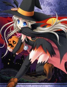 Rating: Safe Score: 37 Tags: halloween heels key little_busters! na-ga noumi_kudryavka thighhighs wings User: admin2
