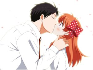 Rating: Safe Score: 31 Tags: gekkan_shoujo_nozaki-kun nozaki_umetarou sakura_chiyo undershaft User: gnarf1975