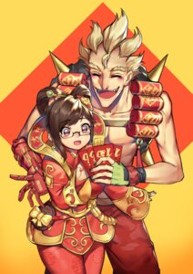 Rating: Safe Score: 20 Tags: asian_clothes greetload junkrat megane mei_(overwatch) overwatch User: Mr_GT