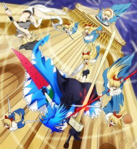 Rating: Safe Score: 9 Tags: alice_margatroid cirno kirisame_marisa koumori_usagi touhou User: Radioactive