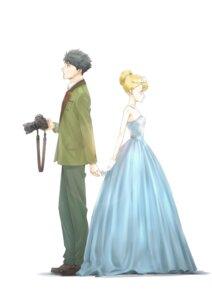Rating: Safe Score: 13 Tags: dress seifuku tada-kun_wa_koi_wo_shinai tada_mitsuyoshi taniguchi_junichirou teresa_wagner User: megurimareta
