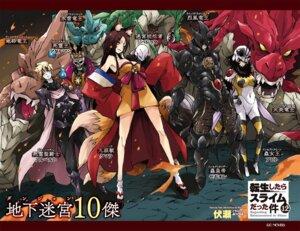 Rating: Safe Score: 4 Tags: animal_ears armor bodysuit japanese_clothes tagme tail tensei_shitara_slime_datta_ken User: kiyoe
