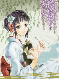 Rating: Safe Score: 26 Tags: kimono neko satou_kou User: Radioactive