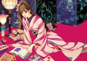 Rating: Safe Score: 14 Tags: kimono matsuo_hiromi User: Radioactive