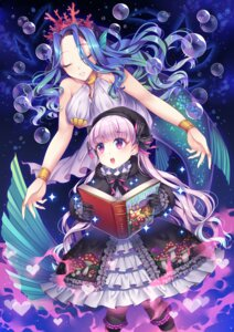 Rating: Safe Score: 29 Tags: dress fate/extra fate/grand_order fate/stay_night lolita_fashion may_(2747513627) mermaid monster_girl nursery_rhyme_(fate/extra) tail User: Mr_GT