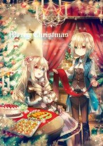 Rating: Safe Score: 19 Tags: alicia_rose allen_rose christmas dress heterochromia yumeichigo_alice User: charunetra