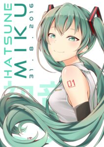 Rating: Safe Score: 25 Tags: hatsune_miku tattoo tsukino_(nakajimaseiki) vocaloid User: charunetra