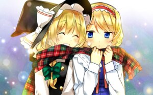 Rating: Safe Score: 20 Tags: alice_margatroid hanabana_tsubomi kirisame_marisa touhou User: fairyren
